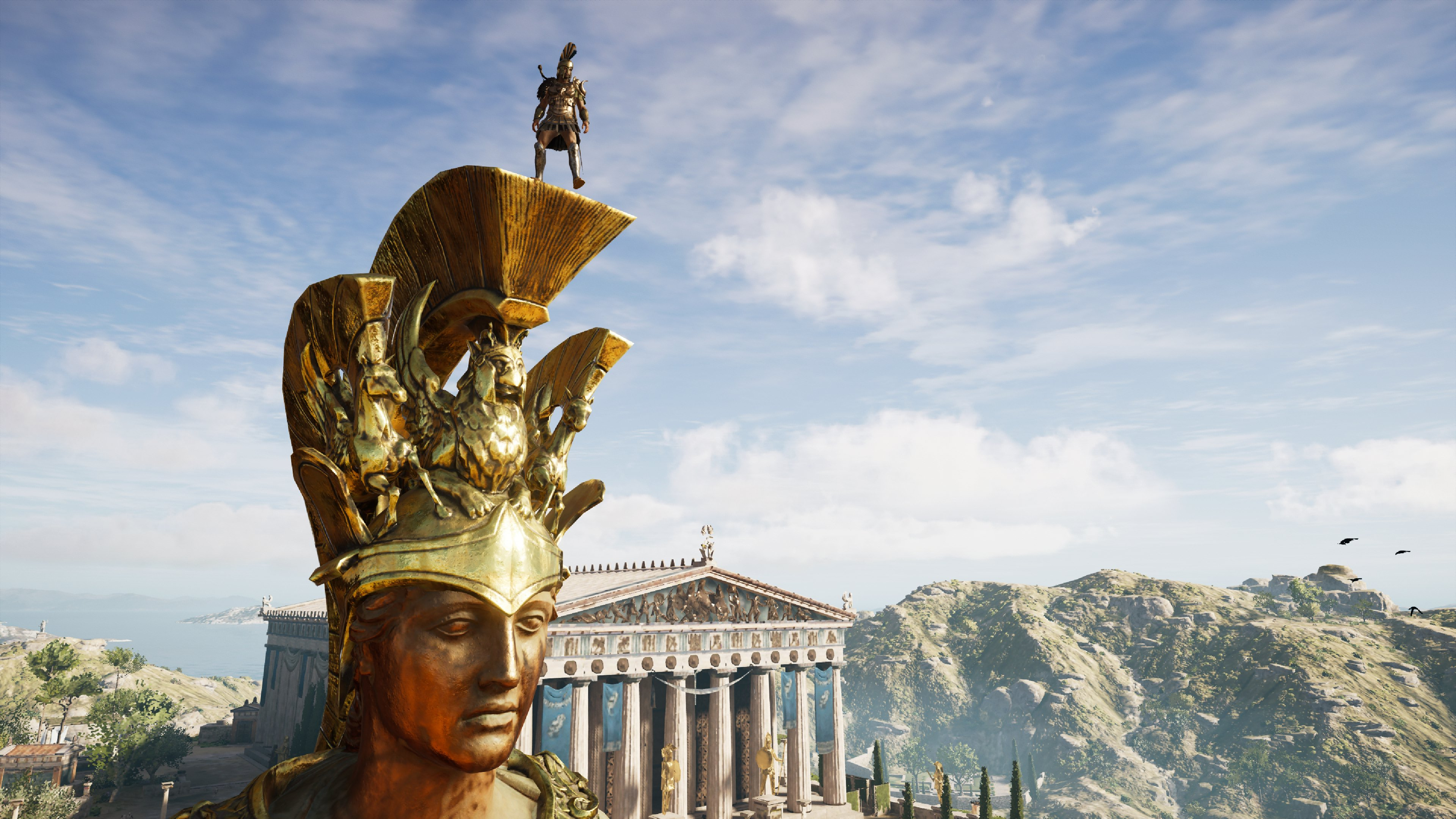 Standing Atop the Statues