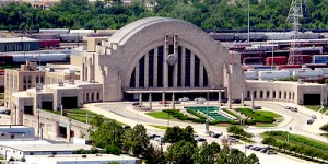 Look at this still functional train station / museum center / imax theatre / inspiration for the Hall of Justice